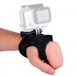 Поворотное крепление-перчатка на руку, кисть для экшн камер GoPro, Xiaomi, SJCAM, Sony