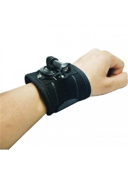 Поворотное крепление на руку, запястье для экшн камер GoPro, Xiaomi, SJCAM, Sony