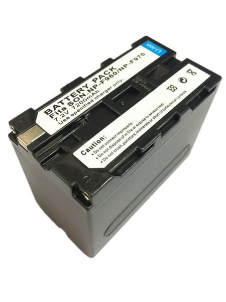Аккумулятор 7200mAh 7.2V Sony NP-F970/F960