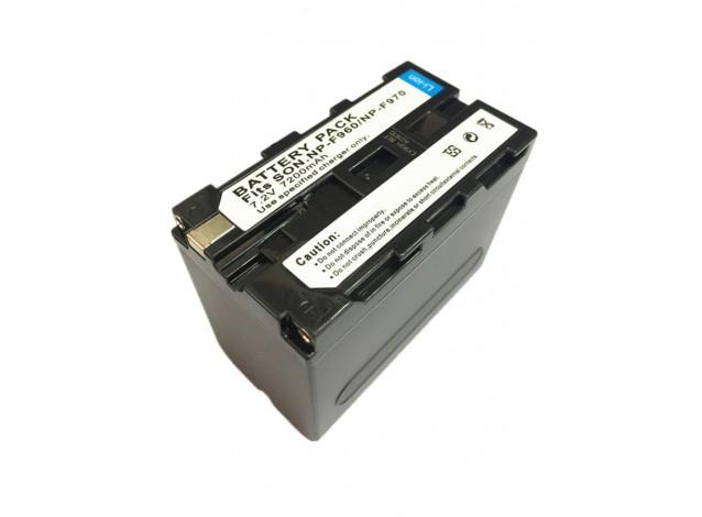 Аккумулятор 7200mAh 7.2V (аналог Sony NP-F970/F960)