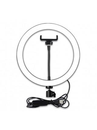 Кольцевая лампа Fun Ring 26 на штативе (0.5м)