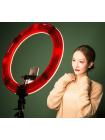 Кольцевая лампа для блогера, визажиста, фотографа (LED 2700-5500K) 48 см