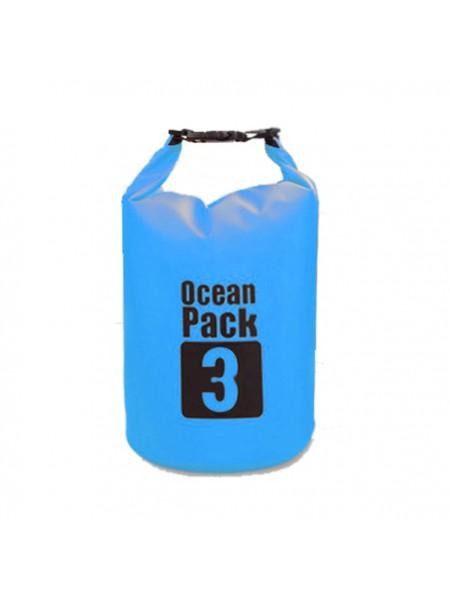 Водонепроницаемая сумка гермомешок OCEAN PACK 3L (3 литра)