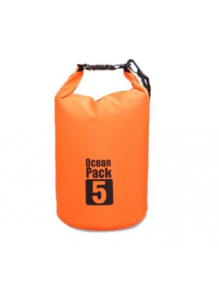 Водонепроницаемая сумка гермомешок OCEAN PACK 5L (5 литров)