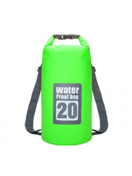 Водонепроницаемый рюкзак гермомешок WATERPROOF BAG 20L (20 литров)