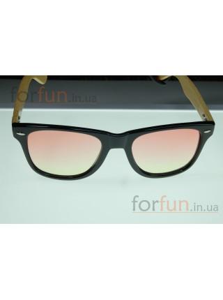 Солнцезащитные очки WAYFARER 10 (Вайфареры) с деревянными дужками