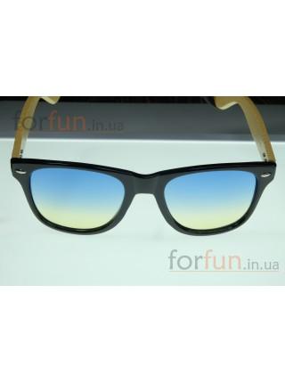 Солнцезащитные очки WAYFARER 11 (Вайфареры) с деревянными дужками
