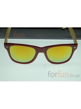 Солнцезащитные очки WAYFARER 23 (Вайфареры) с деревянными дужками