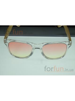 Солнцезащитные очки WAYFARER 42 (Вайфареры) с деревянными дужками