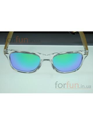 Солнцезащитные очки WAYFARER 52 (Вайфареры) с деревянными дужками