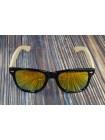Солнцезащитные очки WAYFARER 7 (Вайфареры) с деревянными дужками