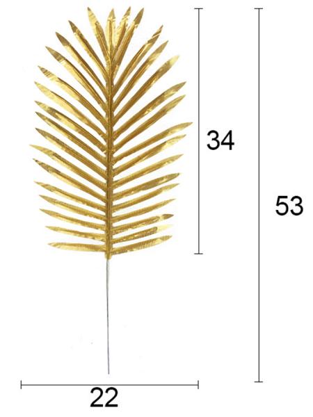 Лист пальмы 53 см