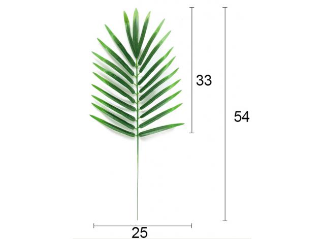 Лист пальмы 54 см