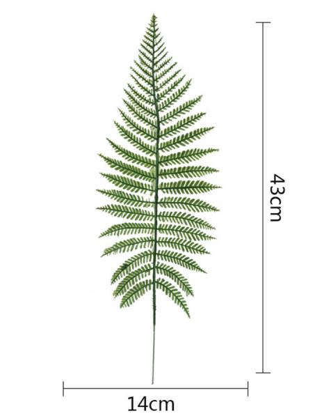 Лист папоротника 43 см