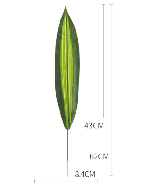 Лист сансевиерии 62 см (2)
