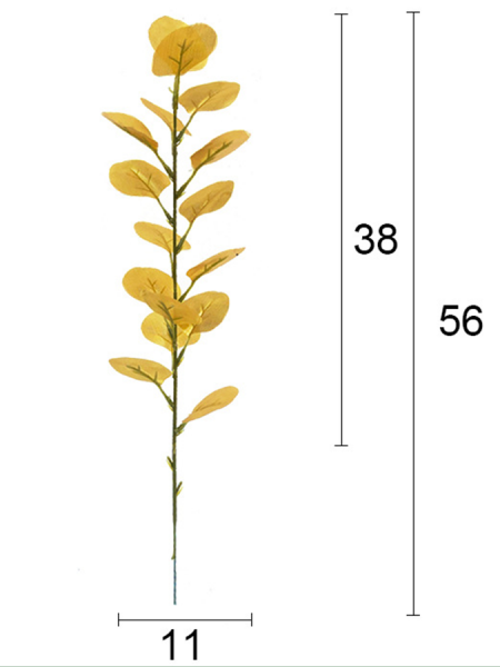 Листья эвкалипта 56 см