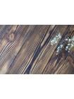 Деревянный двусnоронний фотофон  Обожженное дерево + белые покрашенные доски