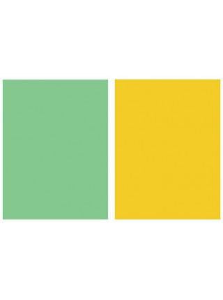 Фотофон желтый + серо-зеленый