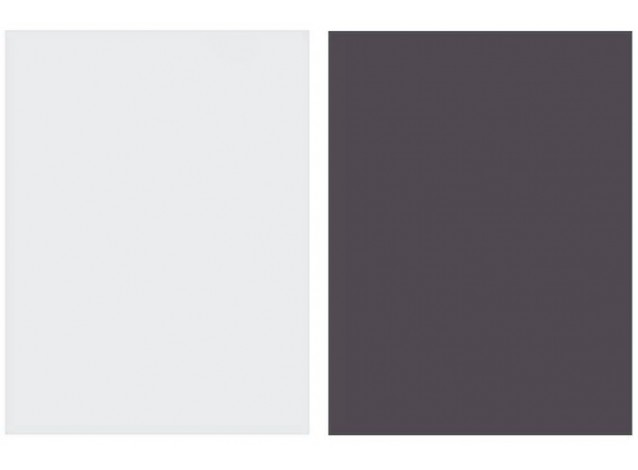 Двусторонний виниловый фотофон 57*87см (300г/м² ) светло-серый + темно-фиолетовый