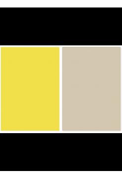 Фотофон бежевый + желтый