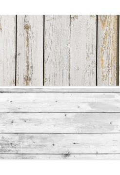 Фотофон белые доски + доски со старой краской
