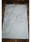 Двусторонний виниловый фотофон 57*87см (300г/м² ) белый мрамор