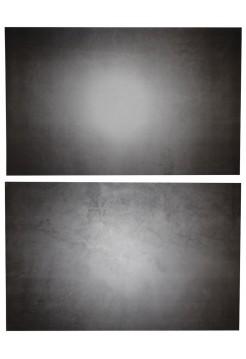 Фотофон черный бетон