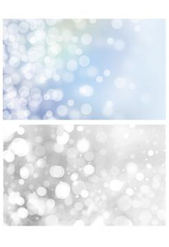 Фотофон расфокусированные огни на сером + расфокусированные огни на голубом