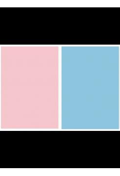 Фотофон розовый + голубой