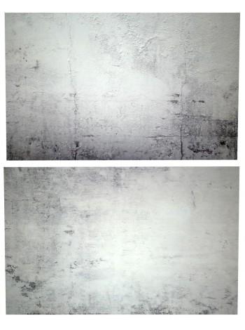 Двусторонний виниловый фотофон 57*87см (300г/м² ) серая штукатурка