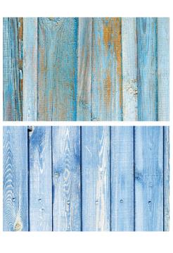 Фотофон синие доски