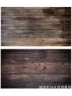 Двусторонний фотофон 57*87 см. Деревянные доски + темное дерево