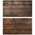 Двусторонний фотофон 57*87 см. Обожженные деревянне доски