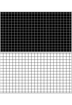 Двусторонний фотофон 57*87 см. Черная клетка + белая клетка