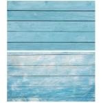 Двусторонний фотофон 57*87 см. Бело-голубые доски + голубые доски