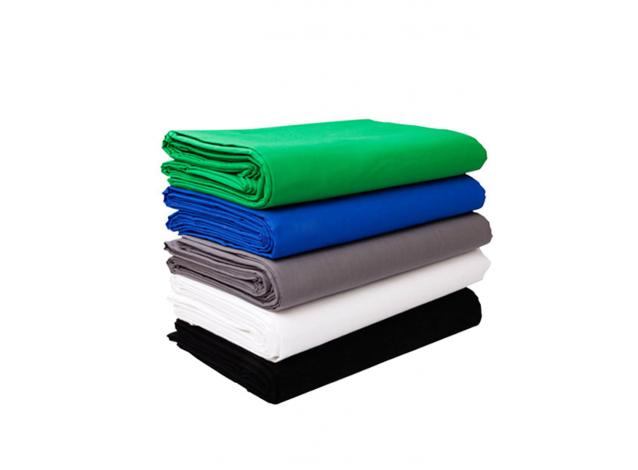 Фон тканевый 2 х 1,5м (зеленый фон, рир, chromakey, фото, видео, хромакей)