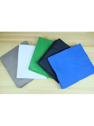 Фон тканевый 2х1,5 м (зеленый фон, рир, chromakey, фото, видео, хромакей)