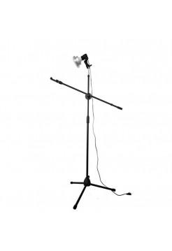 Штатив напольный FF-11 для съемки сверху с лампой 65 Вт (для творчества, flatlay, маникюра)