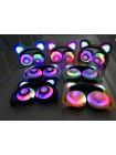 LED наушники со светящимися ушками (мишки)