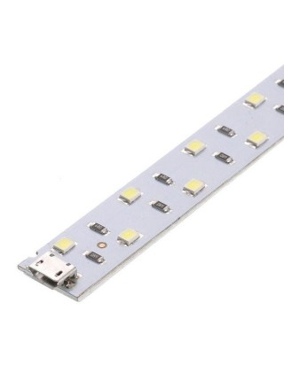 LED лента с USB на липучке для лайтбокса (35 см)