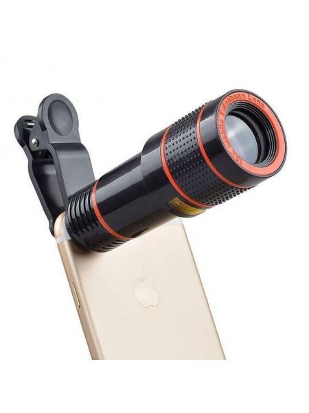 Объектив-телескоп смарт-линза для телефона 12x Zoom Mobile Phone