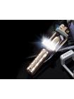 Беспроводной Bluetooth монопод для селфи со светодиодной вспышкой Adyss-A6 для Android + iOS, 18.5-87 см