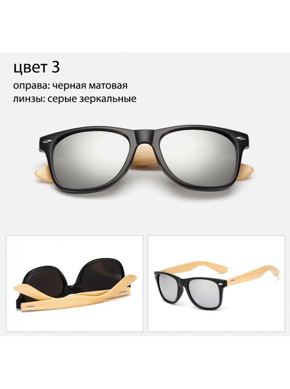 Солнцезащитные очки Ray-Ban WAYFARER Вайфареры с деревянными дужками 9b1452d64c9