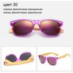 Солнцезащитные очки WAYFARER 30 (Вайфареры) с деревянными дужками