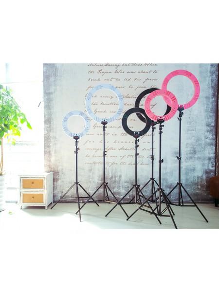 Кольцевая лампа для блогера, визажиста, фотографа (LED 2700-5500K) 35 см