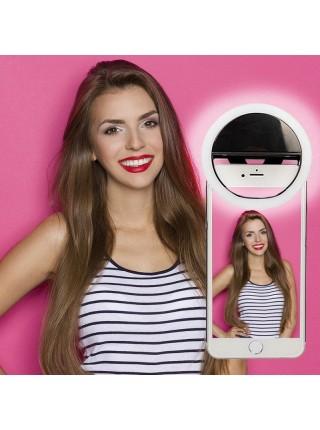Светодиодная подсветка RK-12 Кольцо для селфи selfie ring light IPhone лампа