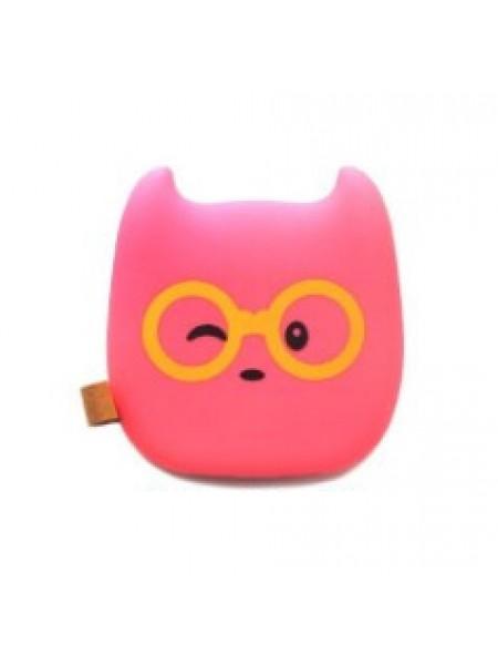 Розовый в очках Power bank