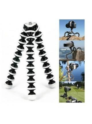 Пластиковый гибкий штатив (большой) трипод осьминог для телефона, камер, селфи, GoPro