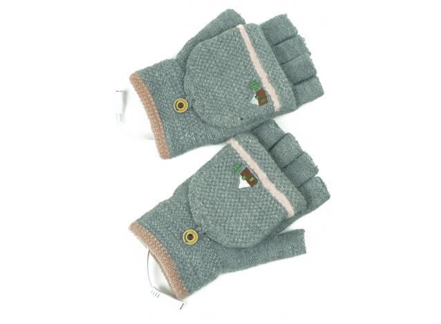Перчатки с двойным подогревом от ЮСБ